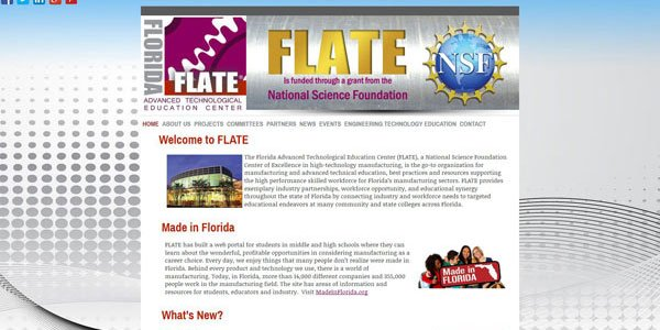 The Florida Advanced Technological Education Center (FLATE)